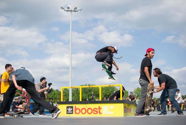 Markus Fakie Flip at adidas Skate Copa at Atlanta
