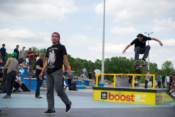 Chris Blake at adidas Skate Copa at Atlanta