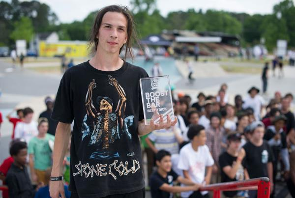 Zeke Wins at adidas Skate Copa at Atlanta
