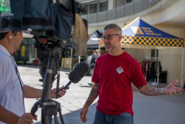 Local News Hero at Zappos Rideshop 2015