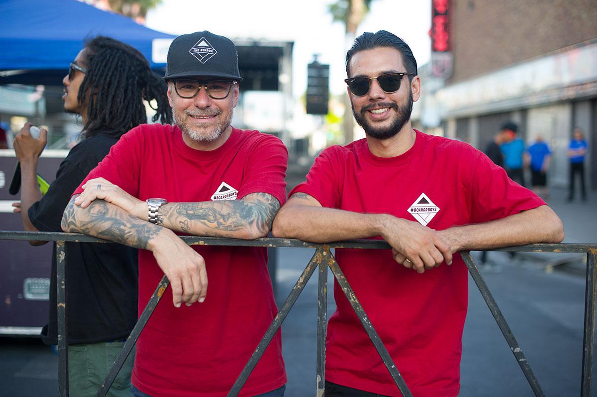 Ryan and Jorge at Zappos Rideshop 2015