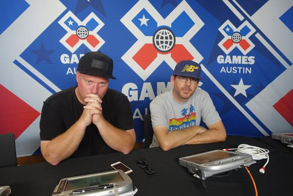 Rothmeyer and Sinclair are Judges at X Games 2015