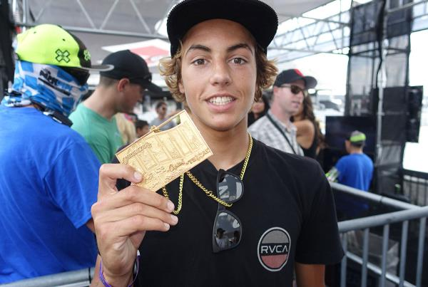 Curren Wins Park at X Games 2015