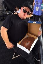 It was Mike Sinclair's birthday this weekend and also National Donut Day. He had a good time.