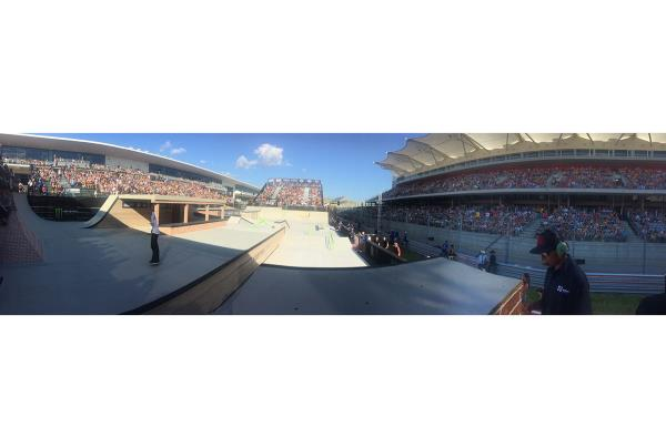 The Crowd at The Boardr Am Finals at X Games 2015
