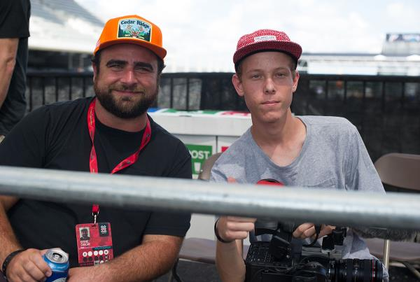 Filmers at The Boardr Am Finals at X Games 2015
