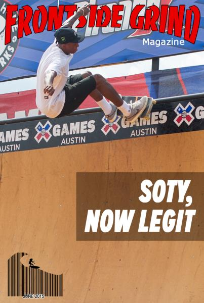 Cover Boy at X Games 2015