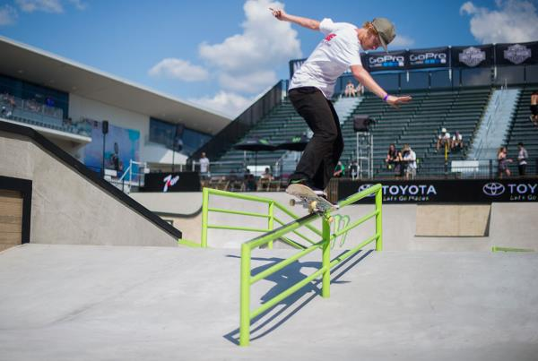 Switch 5-0 at X Games 2015