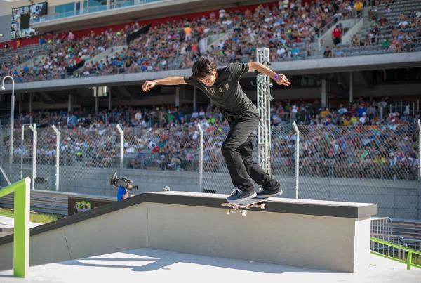 Enzo BSTS at The Boardr Am Series Finals at X Games 2015