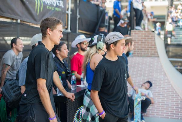 Blake and Alex at The Boardr Am Series Finals at X Games 2015