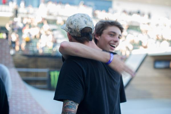 Dustin and Tyson at The Boardr Am Series Finals at X Games 2015