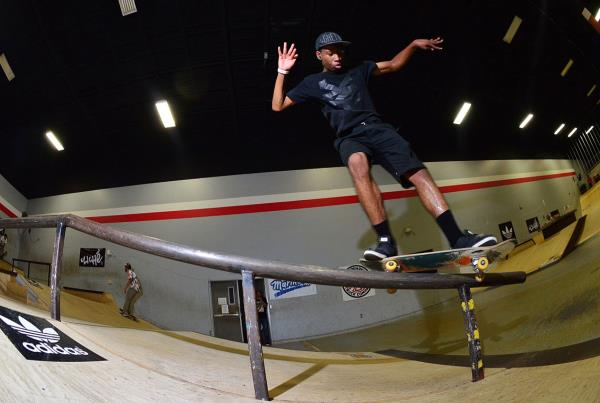 Front Feeble at Grind for Life Fort Lauderdale