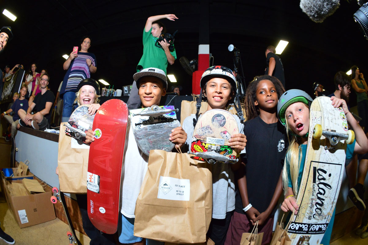 Street 10 to 12 Winners at Grind for Life Fort Lauderdale