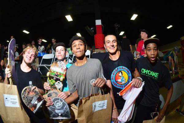Street Sponsored Winners at Grind for Life Fort Lauderdale