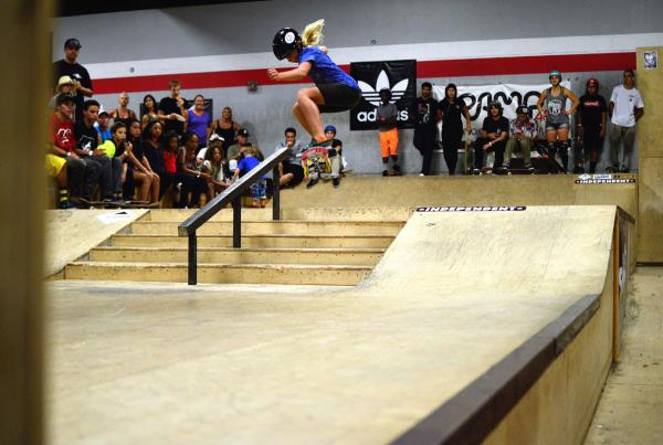 Grace Ollie at Grind for Life Fort Lauderdale