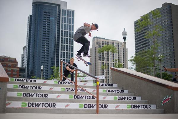 Alec Kickflip Backside Tailslide at Dew Tour Chicago