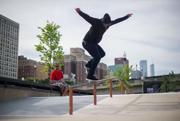 Kelvin Nollie BS Overcook at Dew Tour Chicago