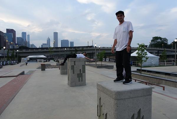 Gravette and Bingaman at Dew Tour Chicago