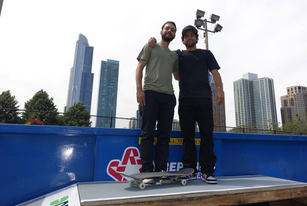 Jorge and P-Rod at Dew Tour Chicago
