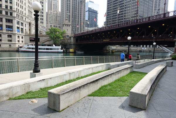 Riverwalk Ledge at Dew Tour Chicago