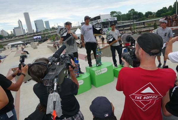 Kelvin Wins at Dew Tour Chicago