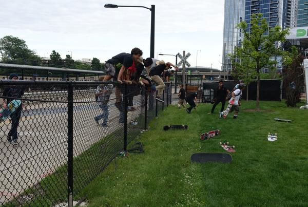 Fence Jumpers at Dew Tour Chicago