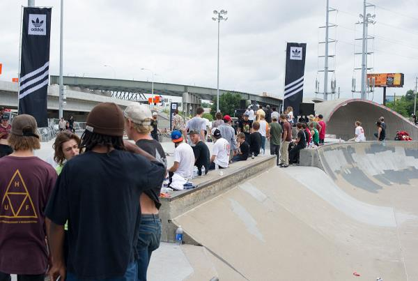 The Crowd at adidas Skate Copa Louisville