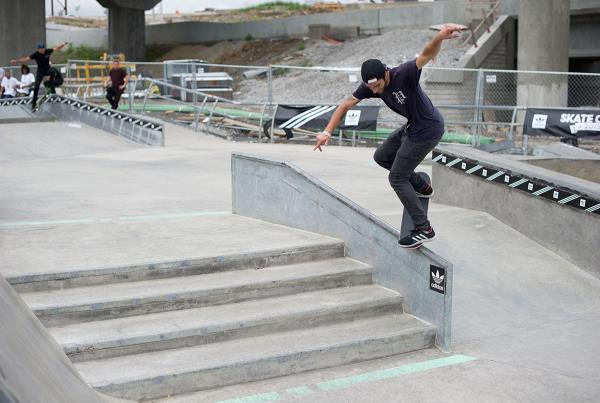 Nollie BS Overcrook at adidas Skate Copa Louisville