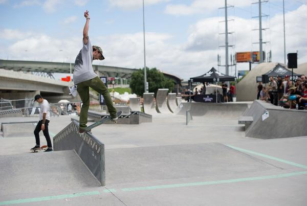 Front Blunt at adidas Skate Copa Louisville