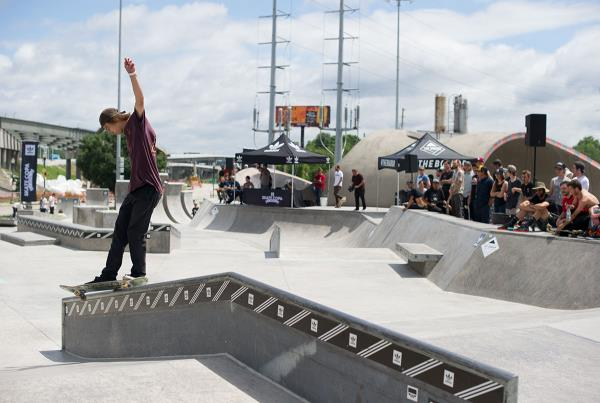 Front Feeble at adidas Skate Copa Louisville