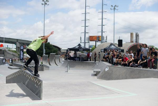 Front Crook at adidas Skate Copa Louisville
