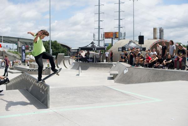 Noseblunt Slide at adidas Skate Copa Louisville