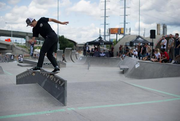 Back Tail at adidas Skate Copa Louisville