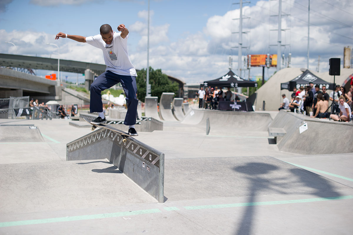 Nollie Noseslide at adidas Skate Copa Louisville