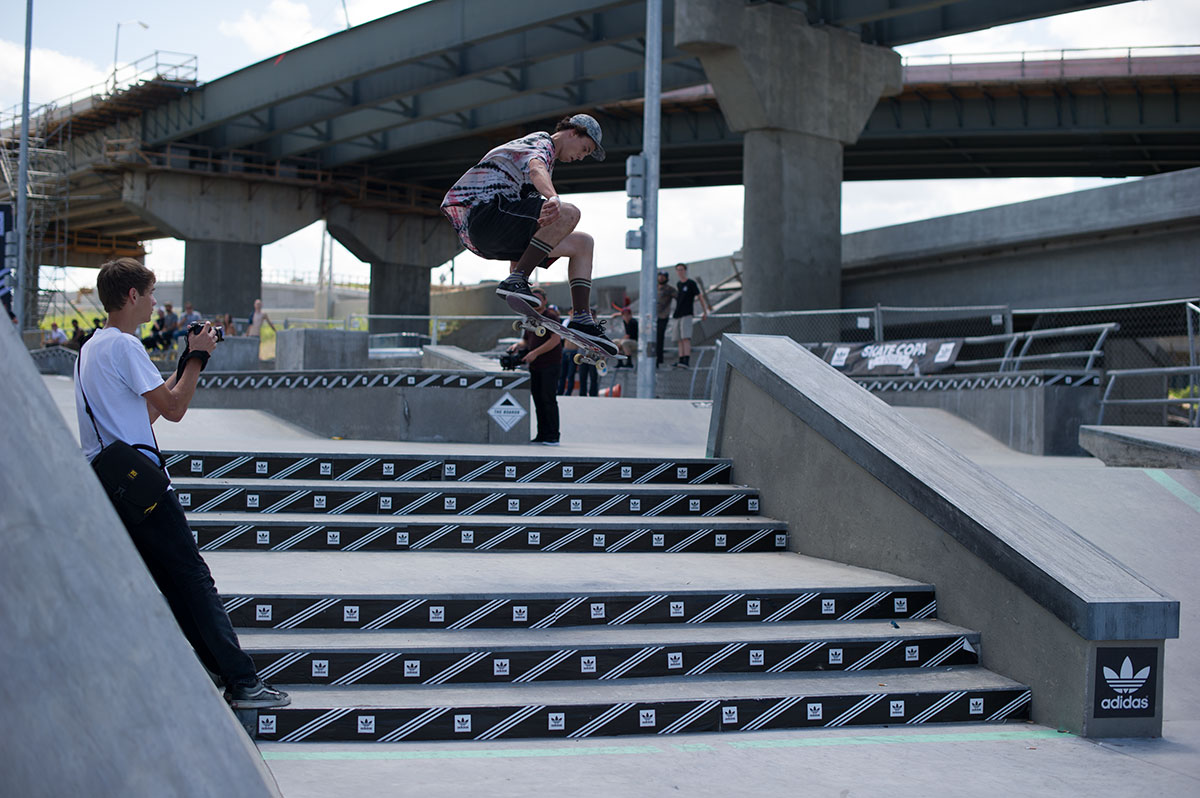 Frontside 360 at adidas Skate Copa Louisville