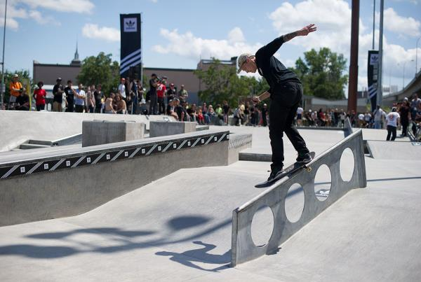 Back Smith at adidas Skate Copa Louisville