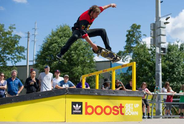 Bennie at adidas Skate Copa Louisville