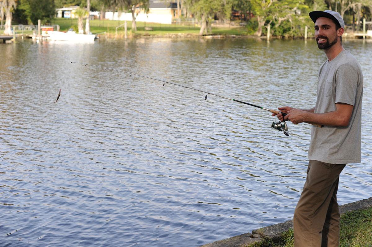 Chris Blake on the River
