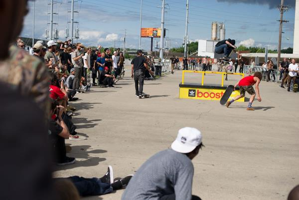 Boost Crowd at adidas Skate Copa Louisville