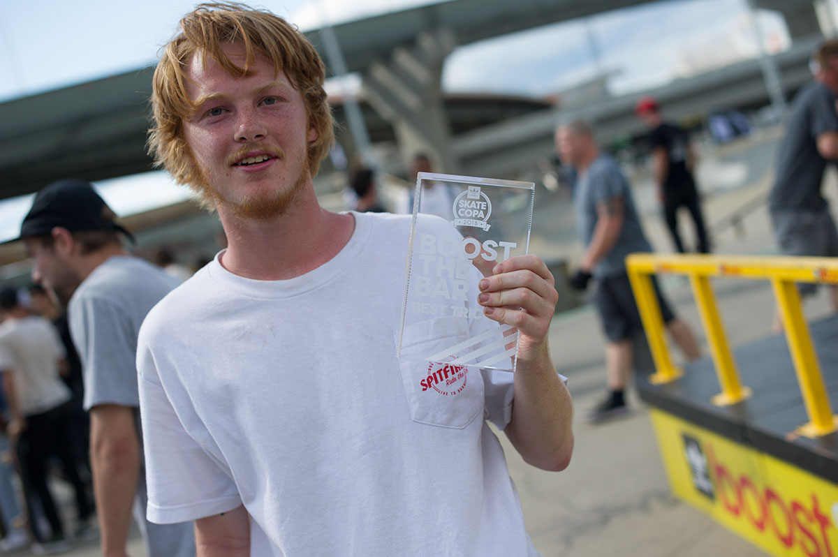 Boost Winner at adidas Skate Copa Louisville