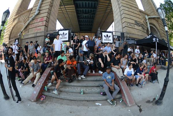 The Crowd at adidas Skate Copa NYC