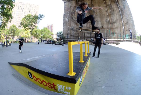 Kickflip at adidas Skate Copa NYC