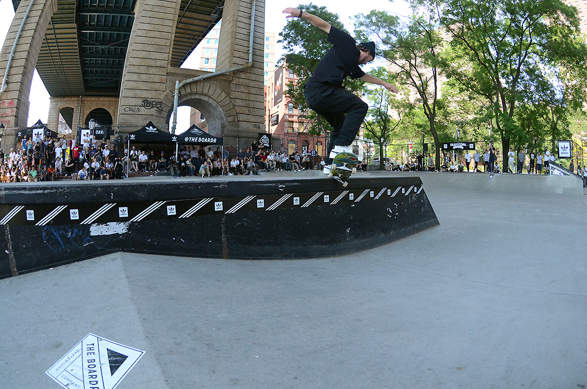 Crooked Grind at adidas Skate Copa NYC