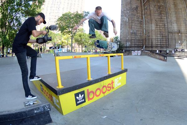 Nollie Heel at adidas Skate Copa NYC