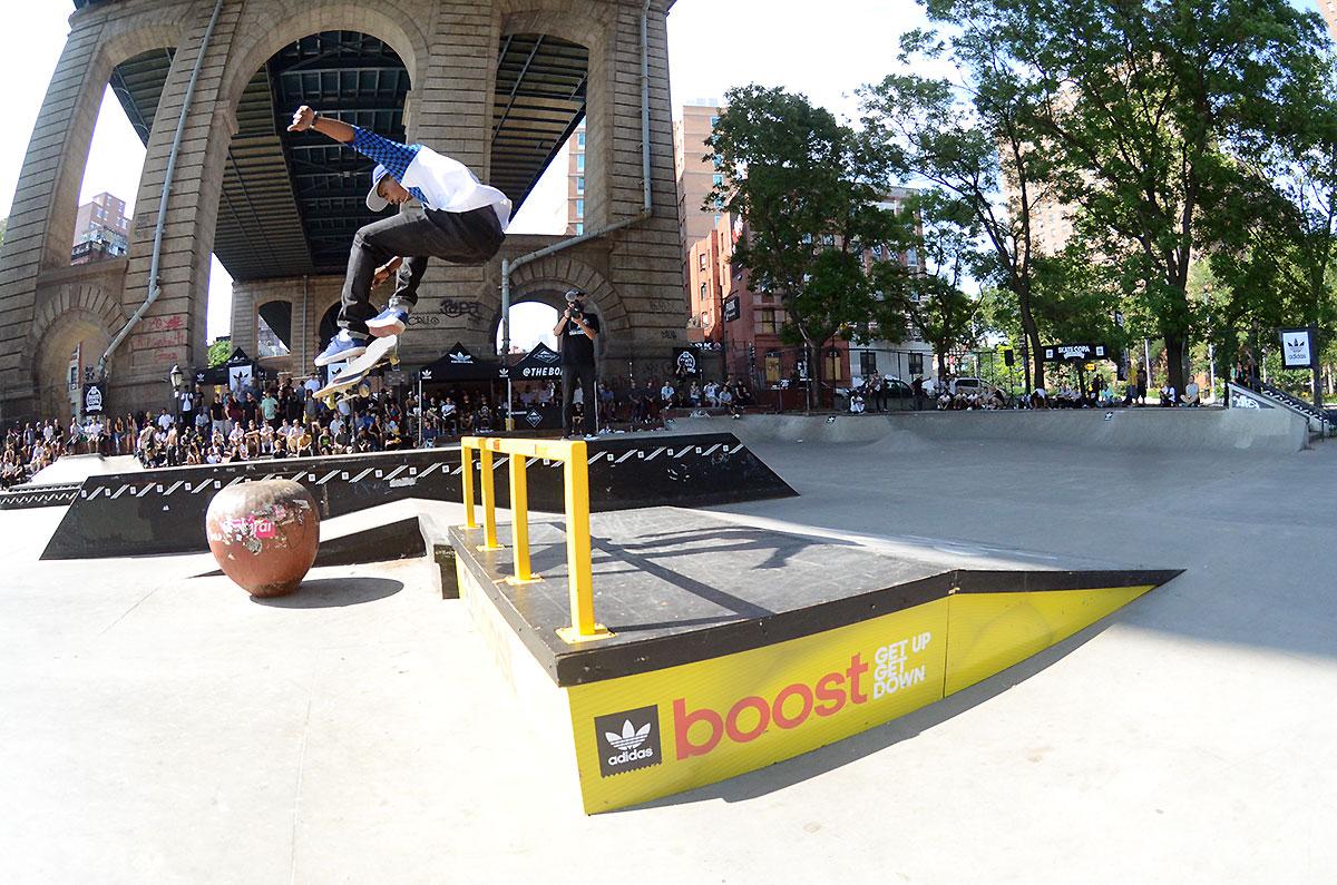 360 Flip at adidas Skate Copa NYC