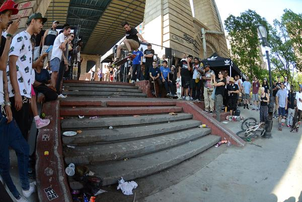 360 Ollie at adidas Skate Copa NYC