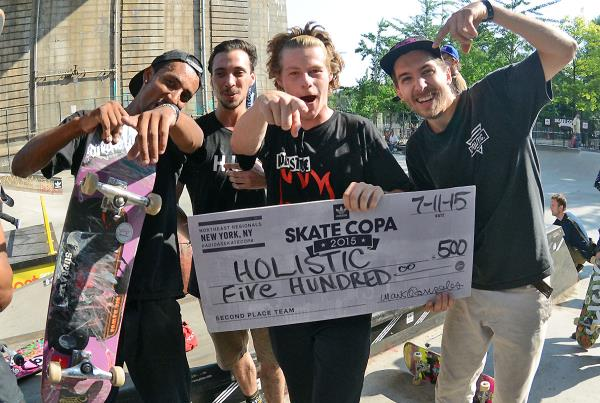 Hollistic at adidas Skate Copa NYC