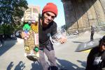 Dylan Nieves destroyed the Boost to Bar Best Trick Trophy with all kinds of double flip variations.
