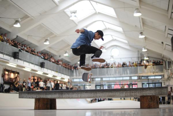 Luan Oliveira Switch Heelflip Sequence at Copenhagen Open