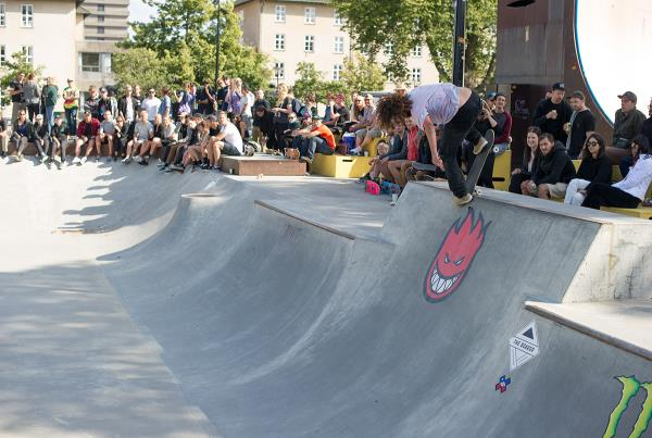 Backside Noseblunt by Itamar Kessler at Copenhagen Open 2015